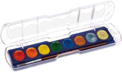 Акварель с металлическим эффектом, 8 цветов., артикул:5107815 - Рисование и лепка