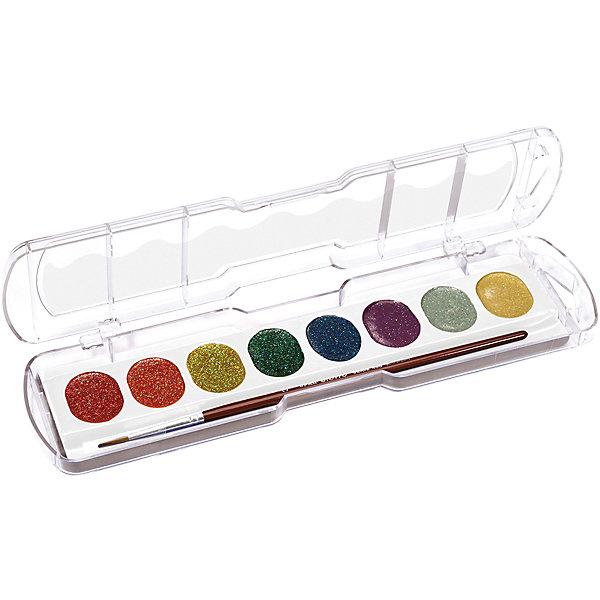 GIOTTO Акварель с глиттером 8 цветов джемпер fresh brand fresh brand fr040ewdfpn2