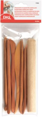 DAS Деревянные стеки для моделирования, 7 шт в блистере.