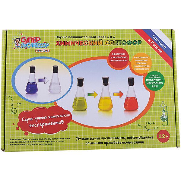Купить Набор для экспериментов 2 в 1 Химический светофор , Qiddycome, Россия, Унисекс