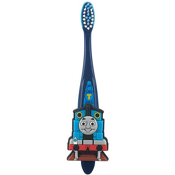 Зубная щетка Паровозик Томас и друзья с настенным держателем, FireflyЗубные щетки<br>Характеристика:<br><br>- Возраст: от 3 лет.<br>- Мягкая щетина.<br><br>Яркая зубная щетка Паровозик Томас и друзья стала еще удобнее, теперь ее можно отдельно крепить к стене или раковине!<br><br>Зубную щетку Паровозик Томас и друзья с настенным держателем, от Firefly, можно купить в нашем магазине.<br>Ширина мм: 150; Глубина мм: 50; Высота мм: 20; Вес г: 50; Возраст от месяцев: 36; Возраст до месяцев: 84; Пол: Унисекс; Возраст: Детский; SKU: 5111431;