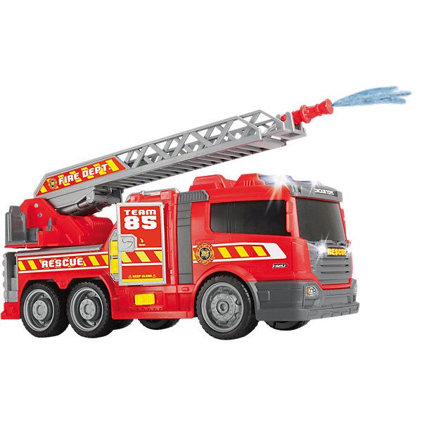 Купить Пожарная машина Dickie Toys свет, звук, 36 см, Гонконг, Мужской