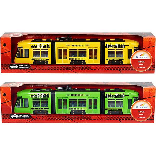 Dickie Toys Городской трамвай Dickie Toys 46 см, в ассортименте игрушка dickie toys городской поезд 3748002