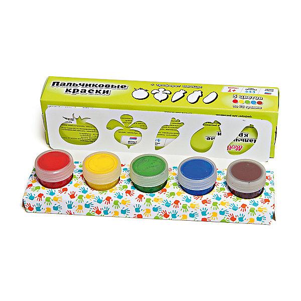 Пальчиковые краски + трафарет Овощи 5цв х 22млПальчиковые краски<br>Краски идеально подходят для раннего обучения цветам, развития тонкой моторики, тактильного восприятия. В состав включены тематический трафарет для рисования. Состав: пищевой краситель, целлюлозный загуститель, глицерин, мел, консервант косметический, вода питьевая.<br>Ширина мм: 24; Глубина мм: 6; Высота мм: 4; Вес г: 110; Возраст от месяцев: 12; Возраст до месяцев: 60; Пол: Унисекс; Возраст: Детский; SKU: 5115207;