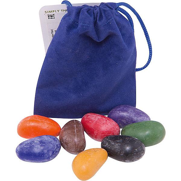 Crayon Rocks Мелки-камушки восковые Crayon Rocks, 8 шт карандаши восковые мелки пастель playon crayon набор восковых карандашей primary set пастельные цвета