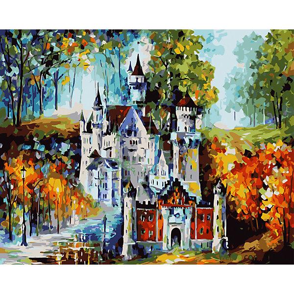 Купить Роспись по номерам Замок 40*50 см, TUKZAR, Китай, Унисекс