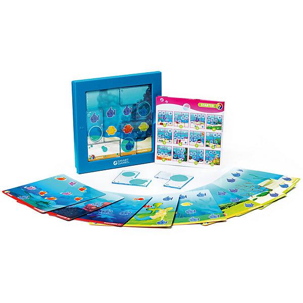 Логическая Игра русалочки, BondibonСтратегические настольные игры<br>Характеристики:<br><br>• Вид игр: настольные игры<br>• Пол: для девочки<br>• Материал: пластик, бумага, картон<br>• Количество игроков: 1<br>• Количество уровней сложности: 4<br>• Количество заданий: 48<br>• Размер (Д*Ш*В): 24*6*24 см<br>• Вес: 624 г<br>• Комплектация: игровой планшет, прозрачные детали-пазлы с изображением пузырей, блокнот с заданиями, инструкция<br><br>Логическая игра Игра русалочки, Bondibon – это настольная игра от всемирно известного производителя детских игр развивающей и обучающей направленности. Smart Games – это серия логических игр, предназначенная для одного игрока с несколькими уровнями сложности и множеством заданий. Цель игры Игра русалочки: расположить элементы-пазлы таким образом, чтобы все хищные рыбы оказались в пузырях. Элементы игры выполнены из качественного и безопасного пластика, упакованы в картонную коробку. В комплекте имеется инструкция с правилами игры и буклет с заданиями.<br><br>Логические игры Smart Games от Bondibon научат ребенка логическому и пространственному мышлению, концентрации внимания и выработке индивидуальной тактики решения игровых задач. Настольные игры от Bondibon – залог развития успешности вашего ребенка в будущем! <br><br>Логическую игру Игра русалочки, Bondibon можно купить в нашем интернет-магазине.<br>Ширина мм: 240; Глубина мм: 50; Высота мм: 240; Вес г: 333; Возраст от месяцев: 48; Возраст до месяцев: 108; Пол: Женский; Возраст: Детский; SKU: 5121960;