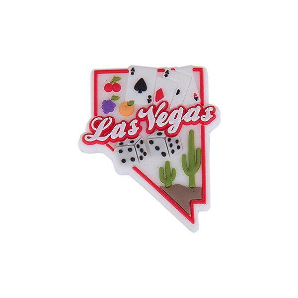 Джибитс для сабо Crocs Las Vegas FunДжибитсы<br>Характеристики товара:<br><br>• материал: полимер<br>• для декорирования сабо<br>• крепятся на вентиляционные отверстия<br>• комплектация: 1 шт<br>• страна бренда: США<br>• страна изготовитель: Китай<br><br>С такими украшениями внешний вид сабо от компании Crocs можно менять каждый день! Этот процесс поможет приучить ребенка к умению подбирать аксессуары к одежде и обуви, самому принимать решения, выдерживать наряд в определенном стиле. Для фиксации декоративных элементов в обуви есть специальные отверстия на новой части - фигурки входят в них легко, но очень плотно закрепляются. С набором украшений можно создавать себе новые сабо постоянно!<br>Обувь от американского бренда Crocs в данный момент завоевала широкую популярность во всем мире, и это не удивительно - ведь она невероятно удобна. Её носят врачи, спортсмены, звёзды шоу-бизнеса, люди, которым много времени приходится бывать на ногах - они понимают, как важна комфортная обувь. Продукция Crocs - это качественные товары, созданные с применением новейших технологий. Обувь отличается стильным дизайном и продуманной конструкцией. Изделие производится из качественных и проверенных материалов, которые безопасны для детей.<br><br>Джибитс для сабо Crocs Las Vegas Fun от торговой марки Crocs можно купить в нашем интернет-магазине.<br>Ширина мм: 170; Глубина мм: 157; Высота мм: 67; Вес г: 117; Цвет: белый; Возраст от месяцев: 144; Возраст до месяцев: 1188; Пол: Унисекс; Возраст: Детский; Размер: one size; SKU: 5122482;