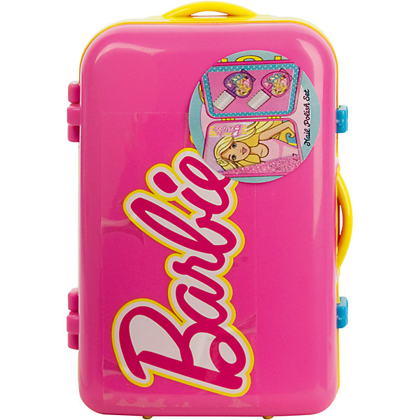 Markwins Набор косметики для ногтей Barbie в чемоданчике, розовый наборы декоративной косметики иллозур подарочный промо набор yllozure