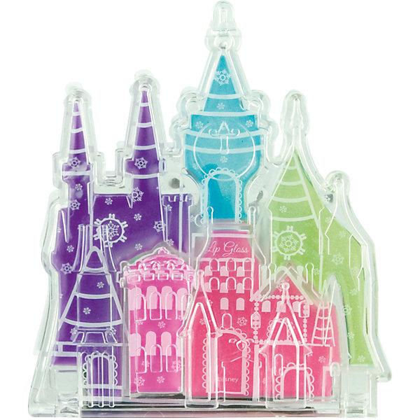 Набор детской косметики Princess - Блеск для губПринцессы Дисней<br>Характеристики:<br><br>• Наименование: детская декоративная косметика<br>• Предназначение: для сюжетно-ролевых игр<br>• Серия: Принцессы Диснея<br>• Пол: для девочки<br>• Материал: натуральные косметические компоненты, пластик, текстиль<br>• Цвет: оттенки розового, голубой, сиреневый, салатовый<br>• Комплектация: палитра блеска для губ из 5 оттенков<br>• Размеры (Д*Ш*В): 10*9*3 см<br>• Вес: 50 г <br>• Упаковка: футляр в виде замка<br><br>Игровой набор детской декоративной косметики в замке, Принцессы Дисней – это набор игровой детской косметики от Markwins, которая вот уже несколько десятилетий специализируется на выпуске детской косметики. Рецептура декоративной детской косметики разработана совместно с косметологами и медиками, в основе рецептуры – водная основа, а потому она гипоаллергенны, не вызывает раздражений на детской коже и легко смывается, не оставляя следа. Безопасность продукции подтверждена международными сертификатами качества и безопасности. <br>Игровой набор детской декоративной косметики состоит из палитры нежных оттенков блеска для губ в оригинальном футляре в виде замка. Косметические средства, входящие в состав набора, имеют длительный срок хранения – 12 месяцев. Набор выполнен в брендовом дизайне популярной серии Принцессы Диснея. Игровой набор детской декоративной косметики от Markwins может стать незаменимым праздничным подарком для любой маленькой модницы!<br><br>Игровой набор детской декоративной косметики в замке, Принцессы Дисней можно купить в нашем интернет-магазине.<br>Ширина мм: 80; Глубина мм: 100; Высота мм: 10; Вес г: 71; Возраст от месяцев: 48; Возраст до месяцев: 120; Пол: Женский; Возраст: Детский; SKU: 5124703;