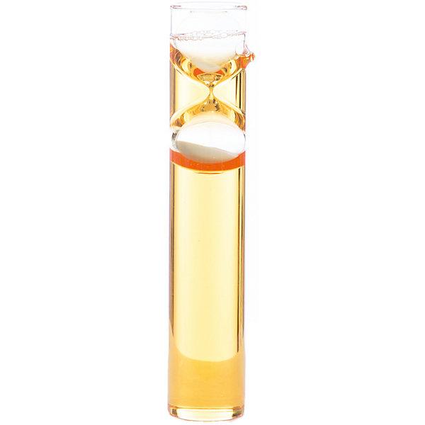 Песочные часы-жидкие, 3 мин, оранжевыйДетские предметы интерьера<br><br>Ширина мм: 105; Глубина мм: 83; Высота мм: 300; Вес г: 506; Возраст от месяцев: 36; Возраст до месяцев: 108; Пол: Унисекс; Возраст: Детский; SKU: 5124748;