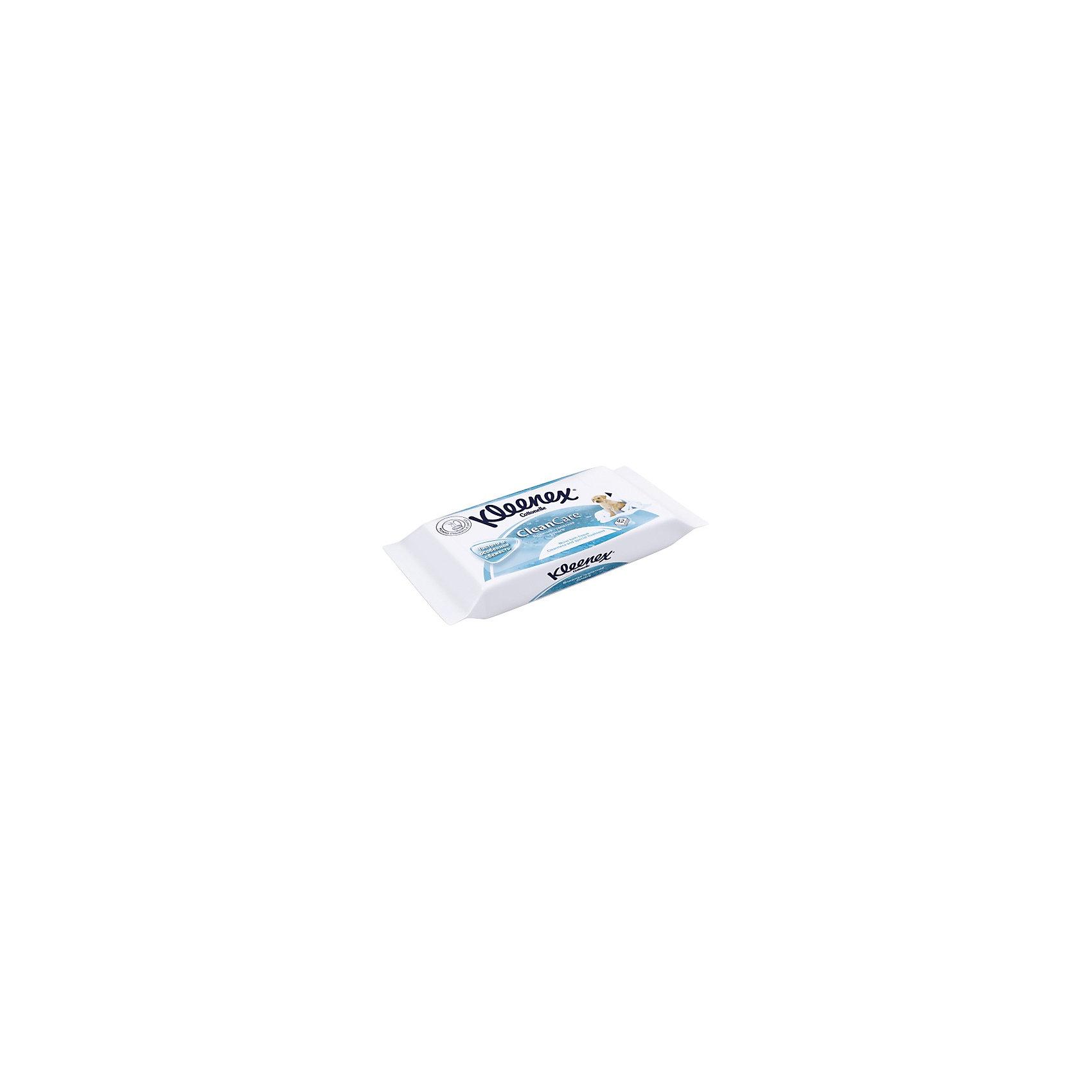 Влажная туалетная бумага запасной блок 42 шт., Kleenex