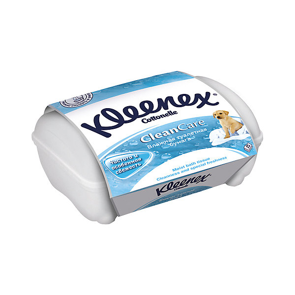 Kleenex Влажная туалетная бумага Kleenex, коробка 42 штуки