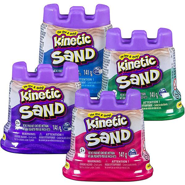 Spin Master Кинетический песок для лепки. 140 грамм в контейнере. 1 неоновый цвет.