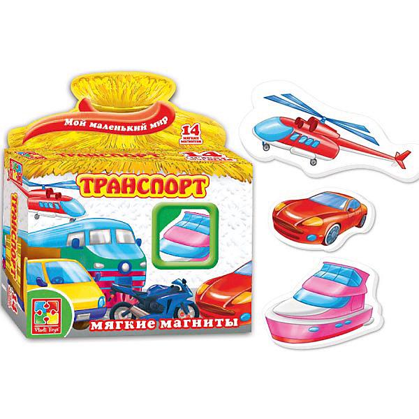 Vladi Toys Игра на магнитах Транспорт, Vladi Toys vladi toys игра азбука на магнитах смешарики vladi toys
