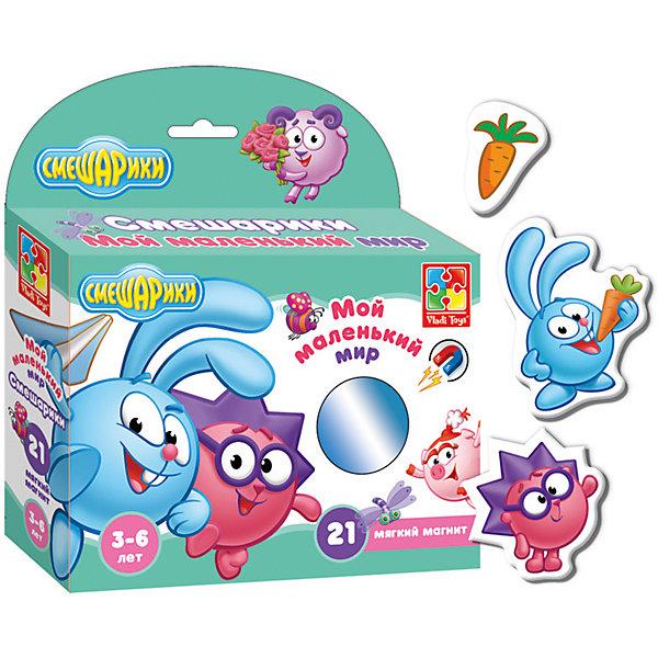 Vladi Toys Игра Мой Маленький мир: Крош и Ёжик, Смешарики, Vladi Toys майка print bar мой маленький мир