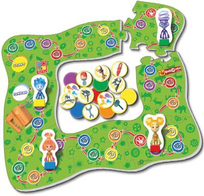 Настольная игра-ходилка  Миксер , Фиксики, Vladi Toys, артикул:5136125 - Игрушки для мальчиков