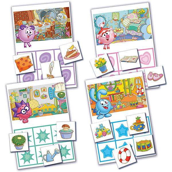 Настольная игра Лото, Смешарики, Vladi ToysЛото<br>Характеристики:<br><br>• Вид игр: обучающие, развивающие<br>• Серия: настольные игры<br>• Количество игроков: до 4-х человек<br>• Пол: универсальный<br>• Материал: картон<br>• Цвет: оранжевый, розовый, желтый и др.<br>• Комплектация: 4 игровых поля, 28 игровых фишек и инструкция с правилами игры<br>• Размеры упаковки (Д*Ш*В): 19,5*3,6*24 см<br>• Тип упаковки: картонная коробка<br>• Вес в упаковке: 240 г<br><br>Настольная игра Лото, Смешарики, Vladi Toys, производителем которых является компания, специализирующаяся на выпуске развивающих игр, давно уже стали популярными среди аналогичной продукции. Развивающие настольные игры являются эффективным способом развития и обучения ребенка. При производстве настольных игр от Vladi Toys используются только экологически безопасные материалы, которые не вызывают аллергии и не имеют запаха. Набор состоит из игровых полей и фишек с изображением персонажей и предметов из сериала Смешарики. Все игровые элементы набора отличаются яркостью красок и наглядностью. <br>Настольная игра Лото, Смешарики, Vladi Toys позволит организовать веселый и полезный досуг вашего ребенка, научит внимательности и логическому мышлению, а также будет способствовать развитию памяти.<br><br>Настольную игру Лото, Смешарики, Vladi Toys можно купить в нашем интернет-магазине.<br>Ширина мм: 195; Глубина мм: 35; Высота мм: 240; Вес г: 240; Возраст от месяцев: 24; Возраст до месяцев: 84; Пол: Унисекс; Возраст: Детский; SKU: 5136128;