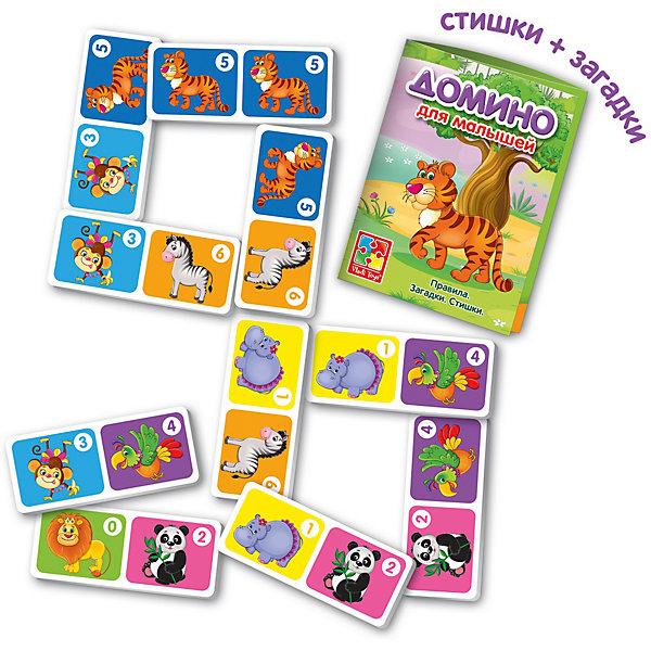 Vladi Toys Настольная игра Зоопарк Домино , Vladi Toys цена