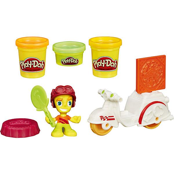 Hasbro Игровой набор Play-Doh Town Транспортные средства Доставка пиццы hasbro набор пластилина hasbro play doh цвета и формы