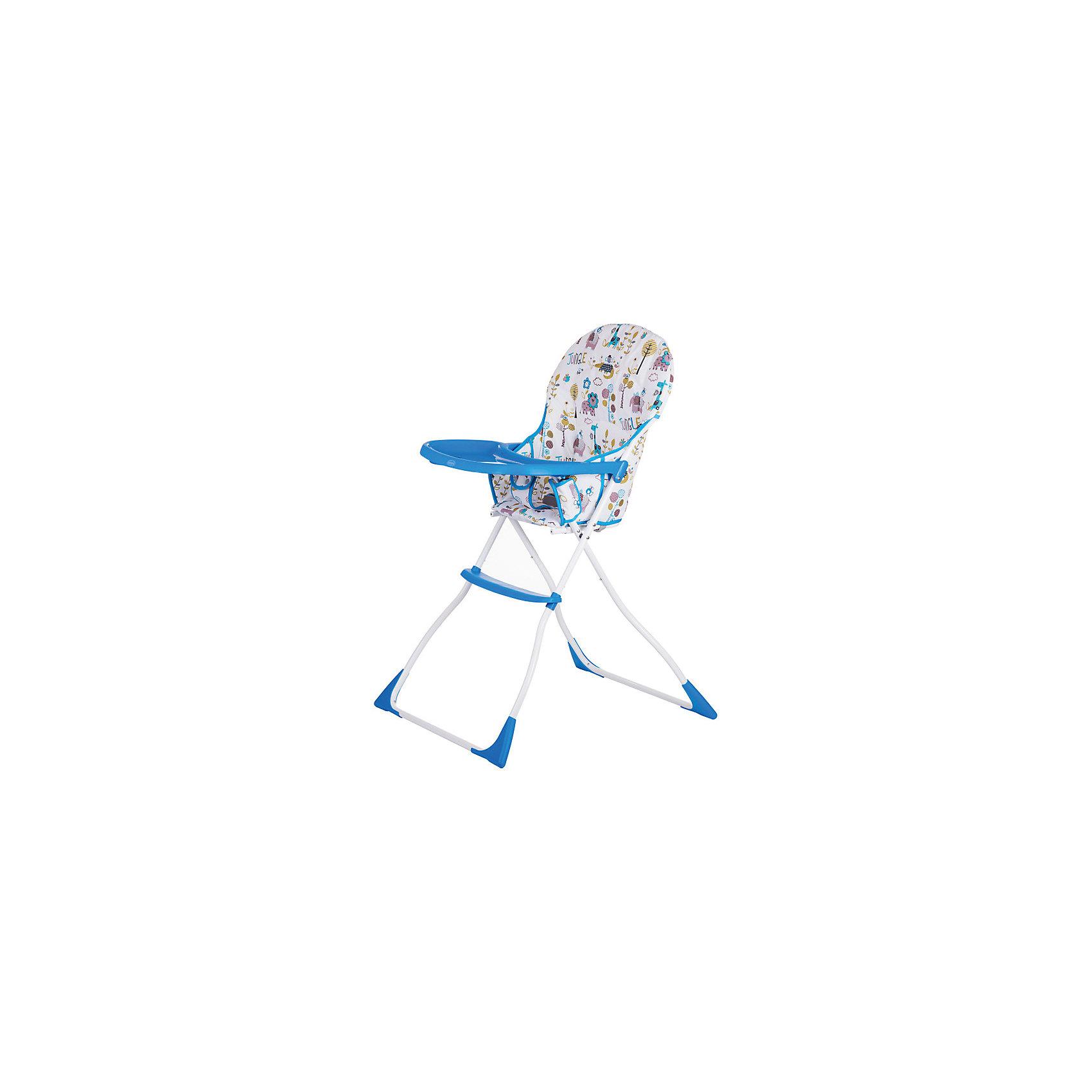 Стульчик для кормления BONBON, Babyhit, белый/голубой (Baby Hit)
