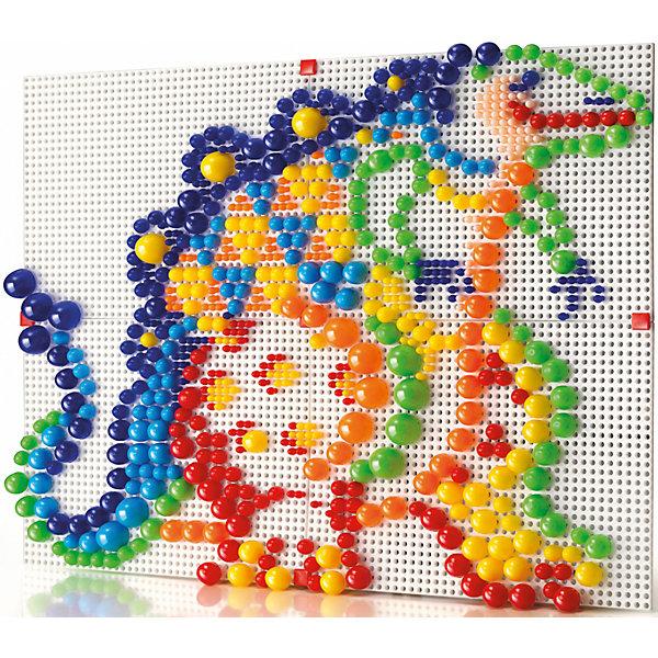 Мозаика Фантастические цвета, 600 деталей, QuercettiОбучающие игры<br>Мозаика Фантастические цвета, 600 деталей, Quercetti (Кверчетти).<br><br>Характеристики:<br><br>- В наборе: 600 деталей-пуговиц 4-х различных размеров (диаметр - 5, 10, 15, 20 мм), 4 прозрачных основы, инструкция<br>- Материал: безопасный пластик, окрашенный нетоксичными красками<br>- Упаковка: картонная коробка с ручкой<br>- Размер упаковки: 40 х 34 х 9 см.<br>- Вес: 1,2 кг.<br><br>Мозаика Фантастические цвета приведет в восторг вашего ребенка и не позволит ему скучать. Комбинируя яркие разноцветные детали разного диаметра, ребенок может собирать на игровом поле изображения из инструкции или придумывать картинки сам. Четыре основы можно соединить между собой, создавая одно большое изображение, либо можно сделать четыре маленькие картинки. Детали мозаики изготовлены из прочного гладкого пластика с глянцевой поверхностью, а игровое поле – из мягкого и гибкого пластика. Собирание мозаики развивает у детей цветовосприятие, творческие способности, внимание, усидчивость и мелкую моторику.<br><br>Мозаику Фантастические цвета, 600 деталей, Quercetti (Кверчетти) можно купить в нашем интернет-магазине.<br>Ширина мм: 400; Глубина мм: 90; Высота мм: 340; Вес г: 1200; Возраст от месяцев: 60; Возраст до месяцев: 2147483647; Пол: Унисекс; Возраст: Детский; SKU: 5140058;