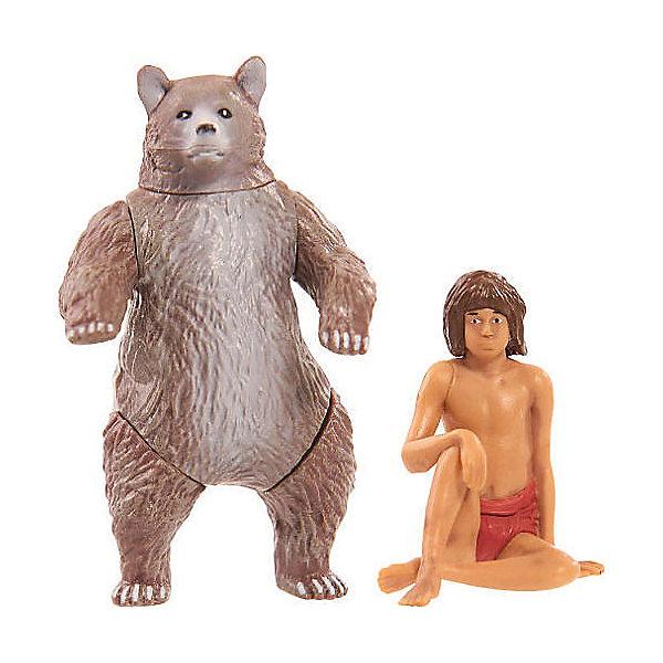 Just Play Фигурки Книга Джунглей - Балу и Маугли фигурки книга джунглей балу и маугли
