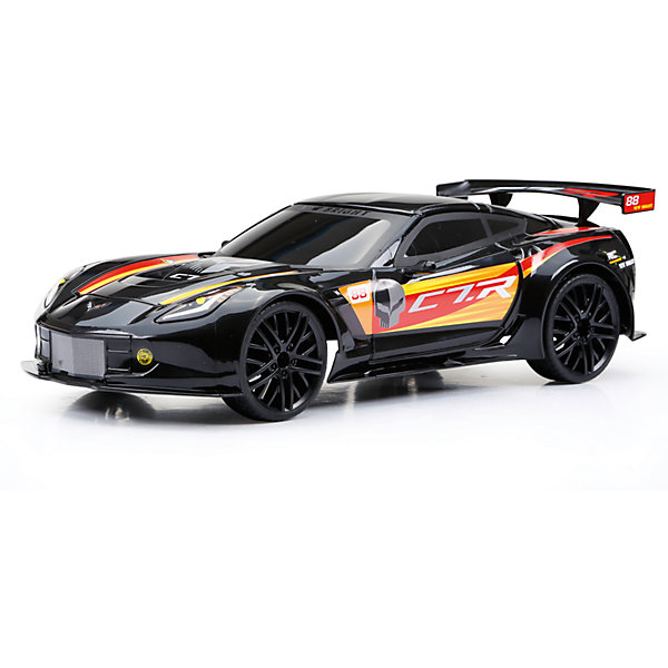 Фотография товара машина на р/у Corvette C7R, чёрная (5141880)