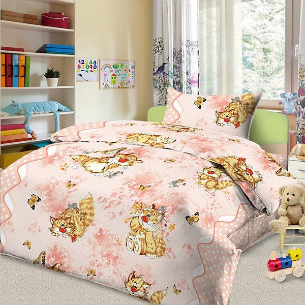 Детское постельное белье 1,5 сп. Letto, Кошки-мышки, розовыйДетское постельное бельё<br>Постельное белье Кошки-мышки (нав.50*70), Letto, розовый<br><br>Характеристики:<br><br>• Размер простыни: 150 х 210<br>• Размер наволочки: 50х70<br>• Размер пододеяльника: 147х210<br>• Ткань: Бязь<br>• Количество предметов: 1 наволочка, 1 простынь, 1 пододеяльник<br>• Цвет: розовый<br>• Размерность: 1,5 спальное<br><br>Дизайнерский комплект постельного белья с кошками и мышками порадует маленьких детей и подростков. Натуральная ткань не вызывает аллергии и дарит ребенку хороший сон. Качественное нанесение краски не позволит комплекту потерять красивый внешний вид. Стирать можно до 30 градусов. Пододеяльник застегивается на молнию, что делает его удобным для детей и взрослых.<br><br>Постельное белье Кошки-мышки (нав.50*70), Letto, розовый можно купить в нашем интернет магазине.<br>Ширина мм: 390; Глубина мм: 280; Высота мм: 40; Вес г: 1500; Возраст от месяцев: 36; Возраст до месяцев: 216; Пол: Женский; Возраст: Детский; SKU: 5141943;