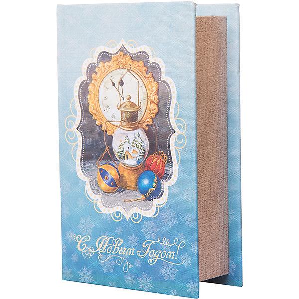 Феникс-Презент Декоративная шкатулка Новогодняя лампа 17*11*5 см ваза декоративная феникс презент высота 13 5 см 43822