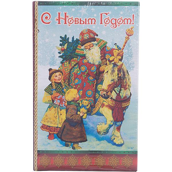 Феникс-Презент Декоративная шкатулка Дед Мороз и дети(17*11*5см, из МДФ)