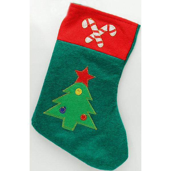 Феникс-Презент Фетровое украшение новогоднее подвесное украшение феникс презент шапка цвет фиолетовый зеленый 34598