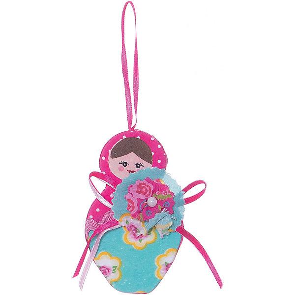 Феникс-Презент Украшение Матрешка 9,5 см новогоднее подвесное украшение феникс презент кленовый лист
