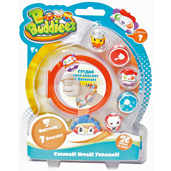 Набор Bbuddieez: 5 шармов-персонажей, 1 браслет,, 1toyBbuddieez<br>Набор Bbuddieez: 5 шармов-персонажей, 1 браслет, 1toy (1 той).<br><br>Характеристики:<br><br>• Серия: Вокруг света;<br>• В наборе:<br>-монстрики-зверюшки - 5 шт.,<br>-карточка персонажа - 5шт.,<br>-силиконовый браслет.<br><br>BBuddieez – коллекционные  монстрики-шармики для девочек и мальчиков 5-12 лет. Их можно прикреплять к браслетам, шнуркам, волосам, рюкзакам, на ручки и карандаши, на одежду. С монстриками можно придумать различные увлекательные игры, собирать и обмениваться с друзьями.  В набор входит силиконовый браслет, 5 монстриков (в ассортименте) и 5 карточек. Собери всю коллекцию!<br><br>Набор Bbuddieez: 5 шармов-персонажей, 1 браслет, 1toy (1 той), можно купить в нашем интернет- магазине.<br>Ширина мм: 185; Глубина мм: 25; Высота мм: 145; Вес г: 79; Возраст от месяцев: 60; Возраст до месяцев: 192; Пол: Унисекс; Возраст: Детский; SKU: 5154267;