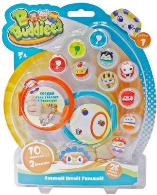 Набор Bbuddieez: 10 шармов-персонажа, 2 браслета, 1toy, артикул:5154268 - Bbuddieez