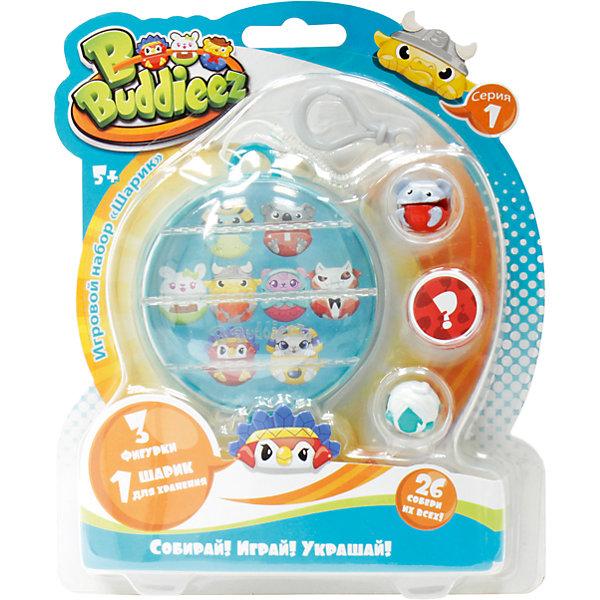 1Toy Набор Bbuddieez: шарик-шкатулка с подвеской и 3 шарма-персонажа, 1toy