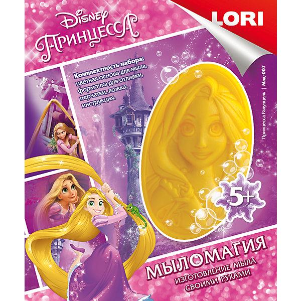 МылоМагия Принцесса РапунцельНаборы для создания мыла и свечей<br>Характеристики товара:<br><br>• цвет: разноцветный<br>• размер упаковки: 11х14х4 см<br>• вес: 90 г<br>• комплектация: основа для мыла, водорастворимая картинка, формочка для отливки, перчатки, ложка, инструкция<br>• возраст: от пяти лет<br>• страна бренда: РФ<br>• страна изготовитель: РФ<br><br>Этот набор для творчества станет отличным подарком ребенку - ведь с помощью него можно получить красивое мыло! В набор входит основа для мыла, водорастворимая картинка, формочка для отливки, перчатки, ложка, инструкция. Чтобы получить мыло, ребенку нужно следовать указаниям инструкции. В итоге получается полезная вещь или подарок родным.<br>Детям очень нравится что-то делать своими руками! Кроме того, творчество помогает детям развивать важные навыки и способности, оно активизирует мышление, формирует усидчивость, творческие способности, мелкую моторику и воображение. Изделие производится из качественных и проверенных материалов, которые безопасны для детей.<br><br>Набор МылоМагия Принцесса Рапунцель от бренда LORI можно купить в нашем интернет-магазине.<br>Ширина мм: 113; Глубина мм: 135; Высота мм: 40; Вес г: 72; Возраст от месяцев: 60; Возраст до месяцев: 108; Пол: Женский; Возраст: Детский; SKU: 5154880;