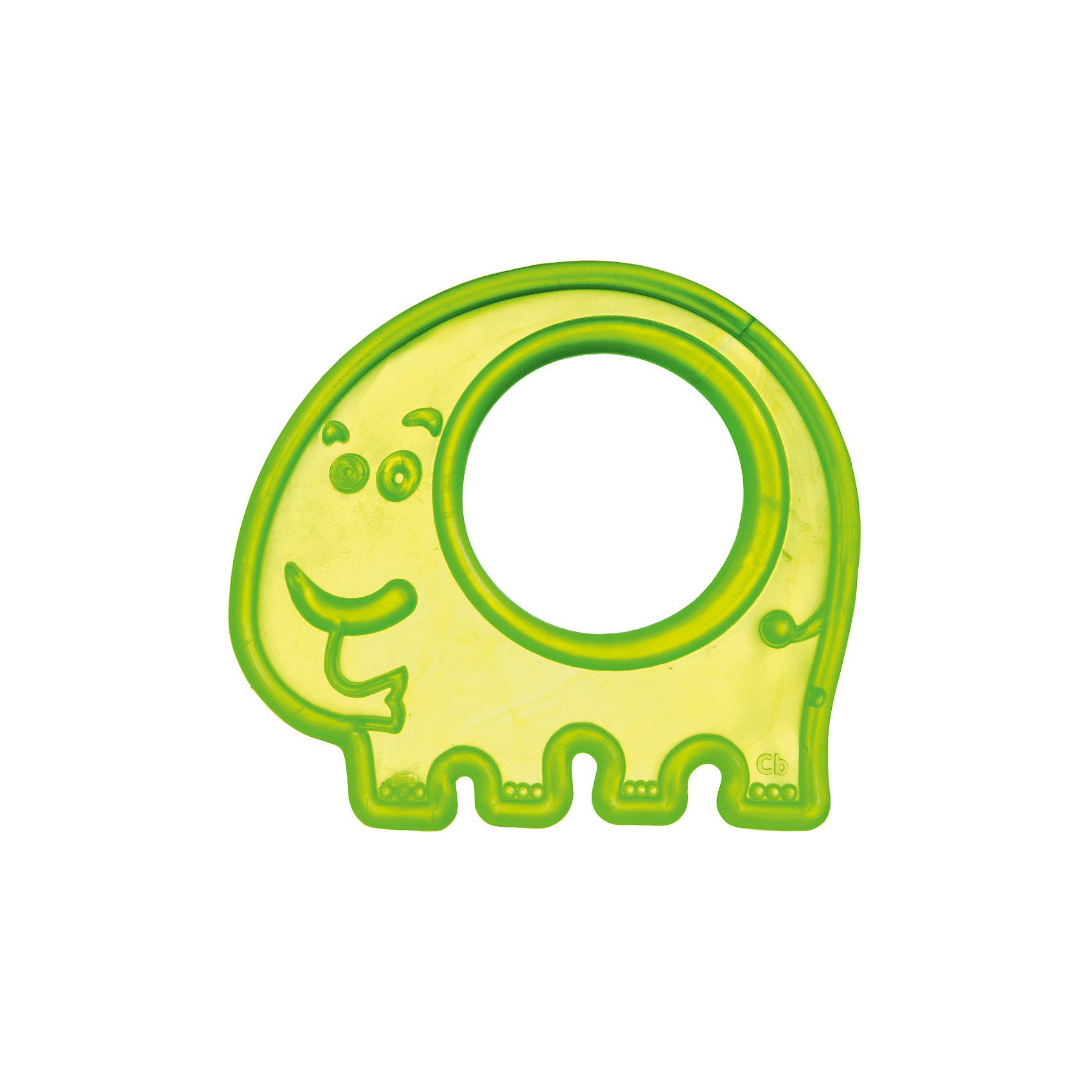 Прорезыватель мягкий Слоник 0+, Canpol Babies, зеленый