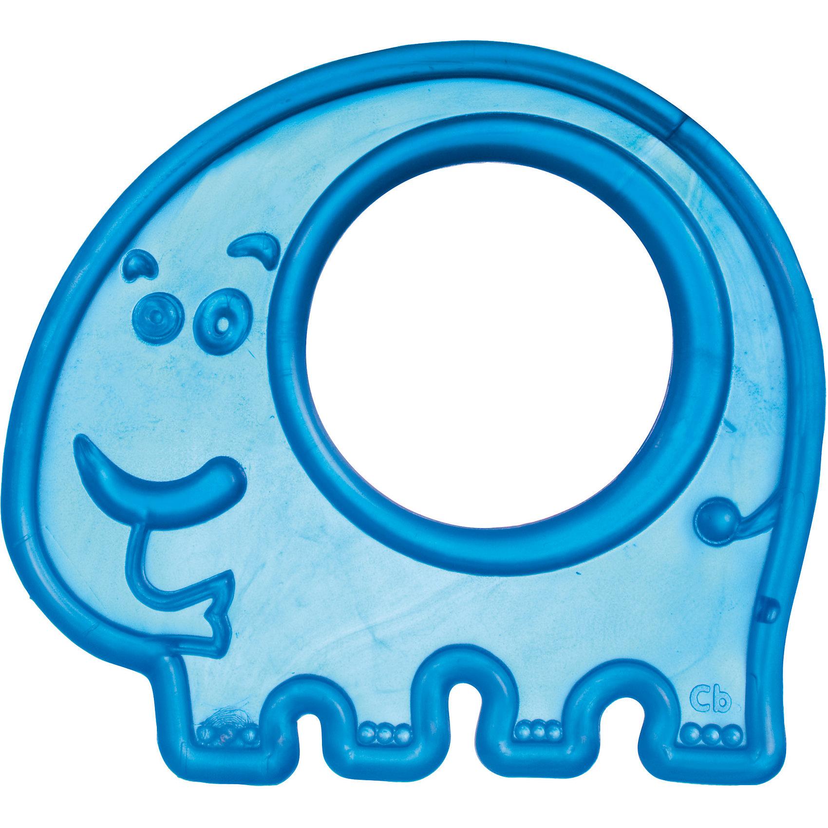 Прорезыватель мягкий Слоник 0+, Canpol Babies, голубой