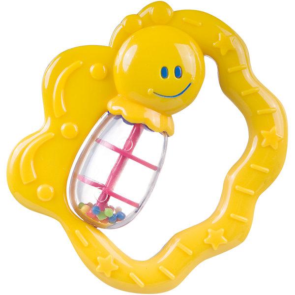 Canpol Babies Погремушка Бабочка, 0+, Canpol Babies, желтый canpol babies силиконовая зубная щетка от 6 мес canpol babies в ассорт