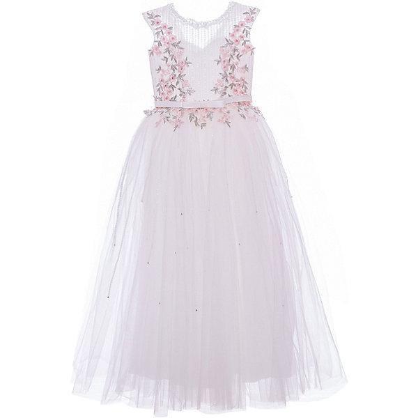 Купить Нарядное платье Престиж, Россия, белый, 122, Женский