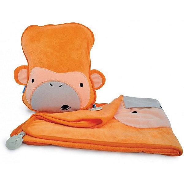 Фотография товара подушка с пледом Обезьянка, TRUNKI (5164517)