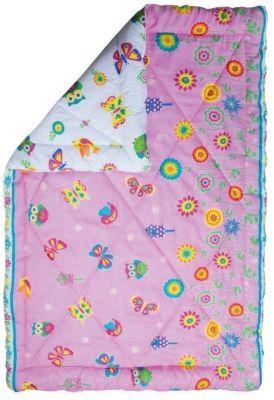 Одеяло 140*205  Бабочки , 200 гр. зима, Mona Liza Kids, артикул:5165640 - Детский текстиль