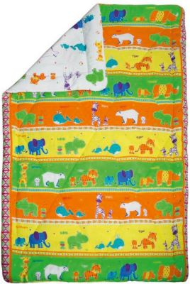 Одеяло 140*205  Зоопарк , 200 гр. зима, Mona Liza Kids, артикул:5165643 - Детский текстиль
