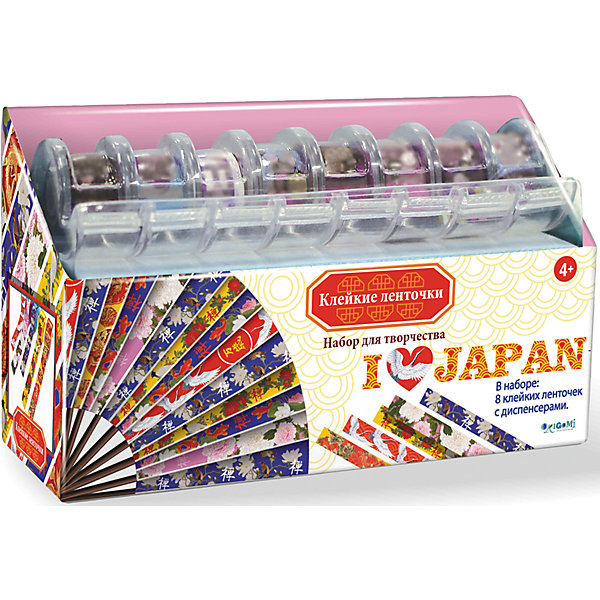 Купить Я люблю Японию Набор для творчества с клейкими ленточками., Чудо-Творчество, Китай, Унисекс
