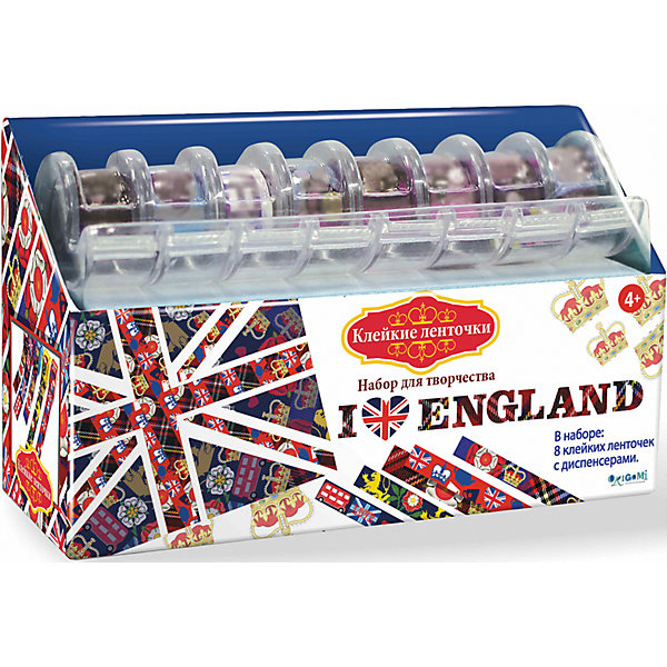 Купить Я люблю Англию Набор для творчества с клейкими ленточками, Чудо-Творчество, Китай, Унисекс