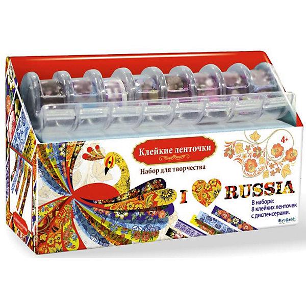 Купить Я люблю Россию Набор для творчества с клейкими ленточками., Чудо-Творчество, Китай, Унисекс