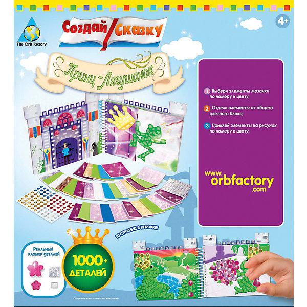 Orb Factory Мозаика-книжка Принц - Лягушонок orb factory мозаика робот