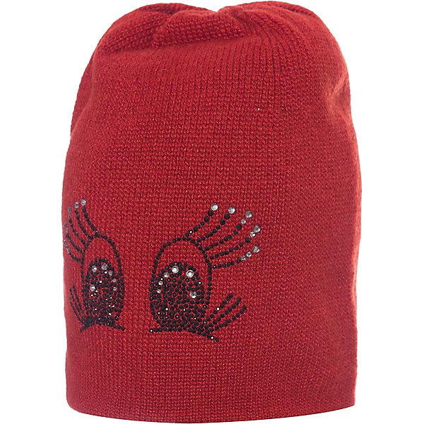 Junior Republic Шапка для девочки Junior Republic junior republic шапка с помпоном зимняя фуксия