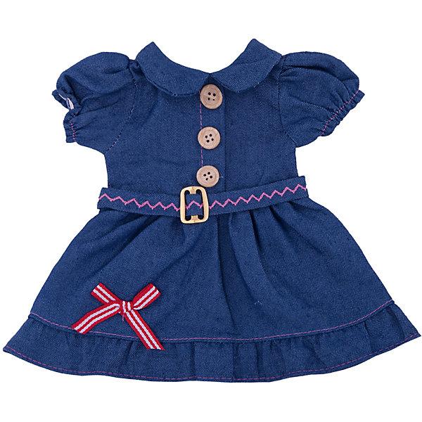 Junfa Toys Одежда для кукол: синее платье, JUNFA